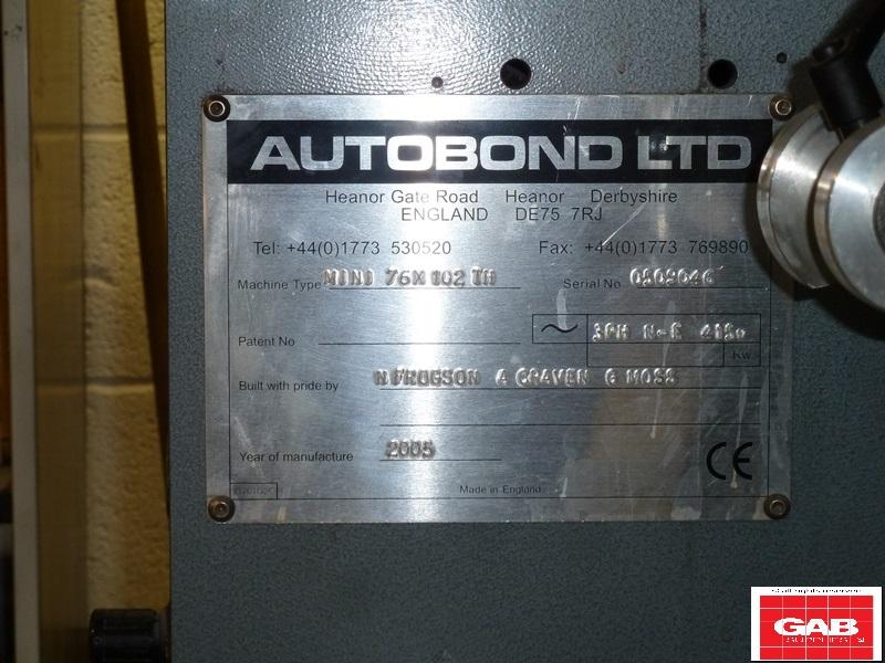 AUTOBOND MINI 76 x 102 TH LAMINATOR