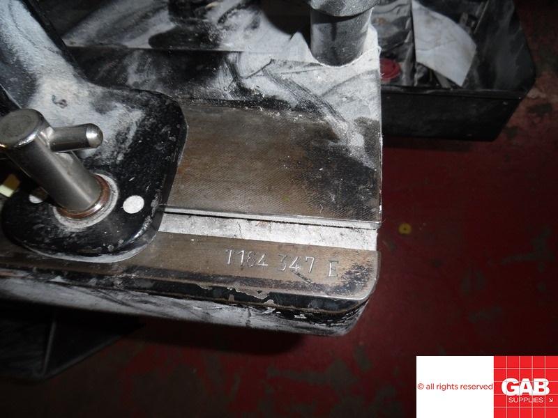 Used Heidelberg T-Platen letterpress machine