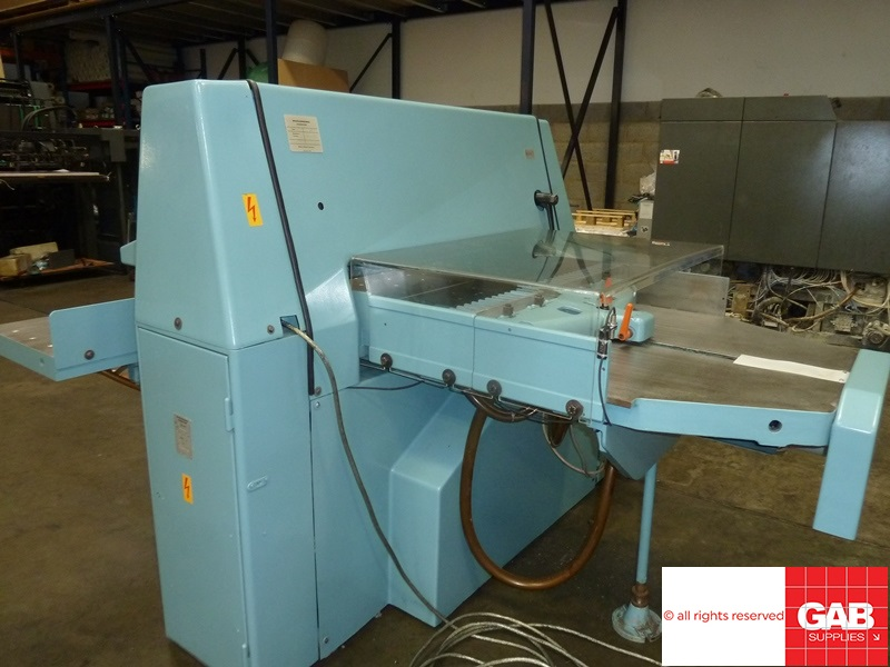 used Wohlenberg 92 cm guillotine
