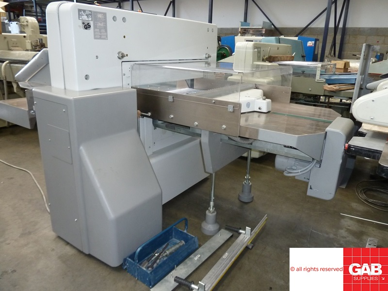 polar 92 e paper cutting guillotine