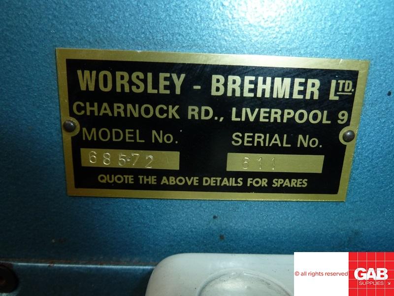 worsley brehmer 685 single head stitcher