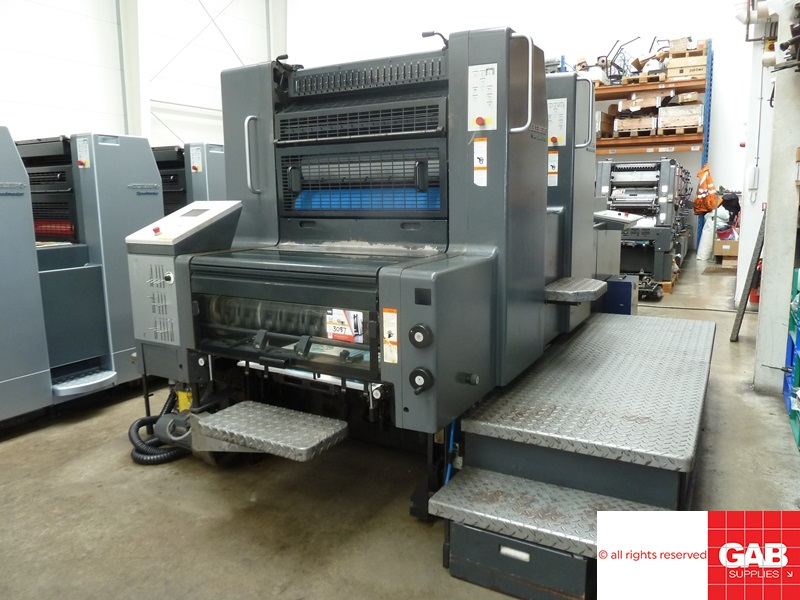 heidelberg speedmaster sm 74-2p two colour