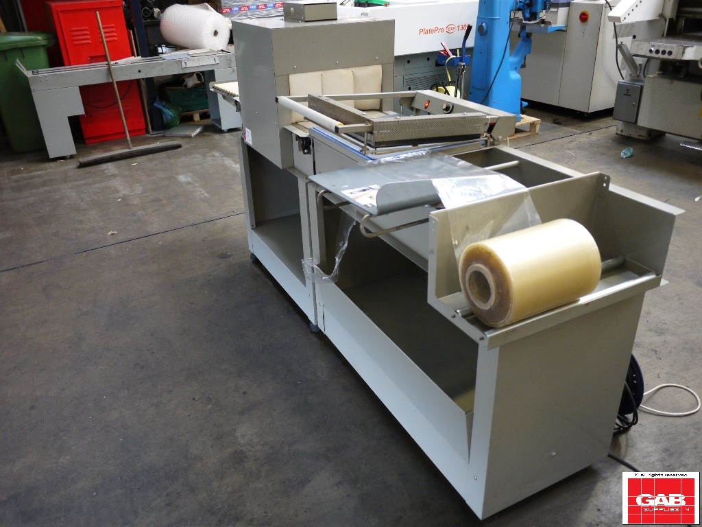WRAPS W20 SHRINK WRAPPING MACHINE