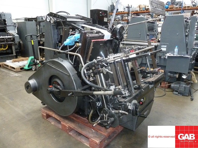 1980 Heidelberg GTP Platen with Hot Foiling Attachment