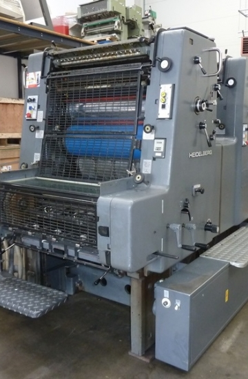 Two colour  Used offset printing machines 1986 Used Heidelberg MOZP-E two colour offset