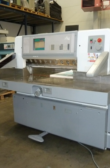Guillotines  Used finishing machines 1999 Used Polar 92 E paper guillotine