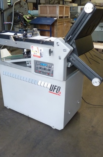 Folders  Used finishing machines 2002 Morgana UFO 2 paper folding machine