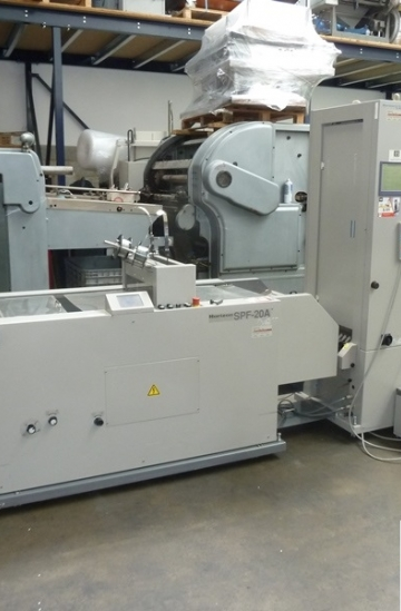 Saddle Stitching  Used finishing machines Horizon Booklet Maker For Sale - Vac-100a & Spf-20a