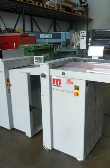 Others  Used other machines MORGANA AUTOCREASAR PRO 50-730820T  with MORGANA AUTOFOLD- PRO