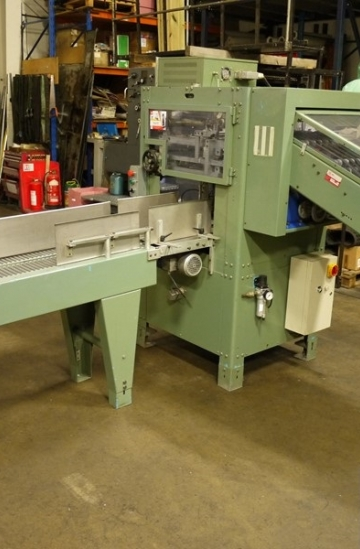 Others  Used other machines OMG Bassotto Compansating Stacker for saddle stitching lines
