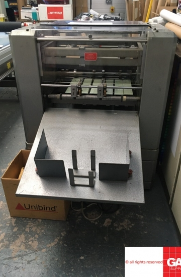 Others  Used other machines Rollem Auto 5 - Numbering, Perforating and creasing machine