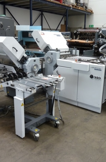 Folders  Used finishing machines Used Heidelberg StahlFolder TI 52 4-4-1 paper folding machine
