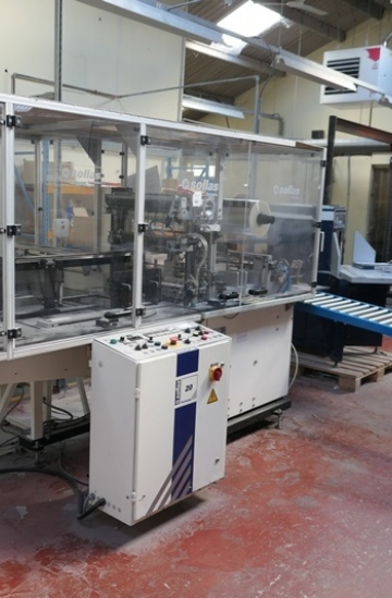 Others  Used other machines Sollas 20H125 automatic ream wrapper for A4 size sheets