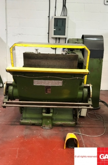 Die - cutters  Used finishing machines Crosland TXE Platen - Die Cutter Machine