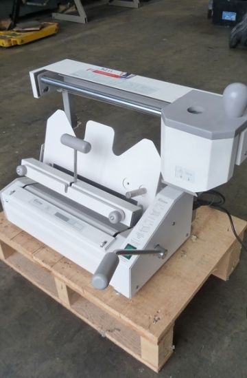 Others  Used other machines Fastbind Secura book binding machine