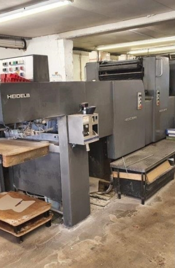 Five colour  Used offset printing machines Heidelberg MOF+L five colour offset with coater