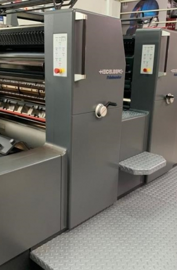 Two colour  Used offset printing machines Heidelberg Printmaster PM 74-2 two colour offset