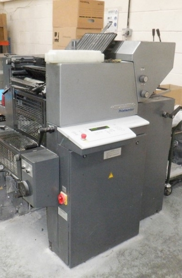 Two colour  Used offset printing machines Heidelberg Printmaster QM 46-2 two colour offset