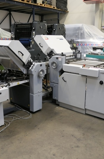 Folders  Used finishing machines Heidelberg Stahlfolder TI 52 4/4 paper folder