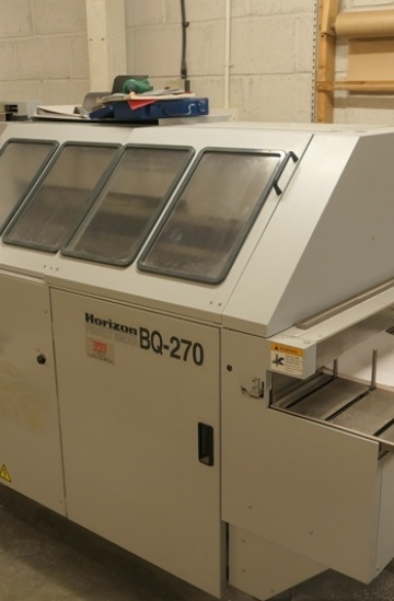 Perfect Binders  Used finishing machines horizon bq 270 perfect binding machine for sale in UK