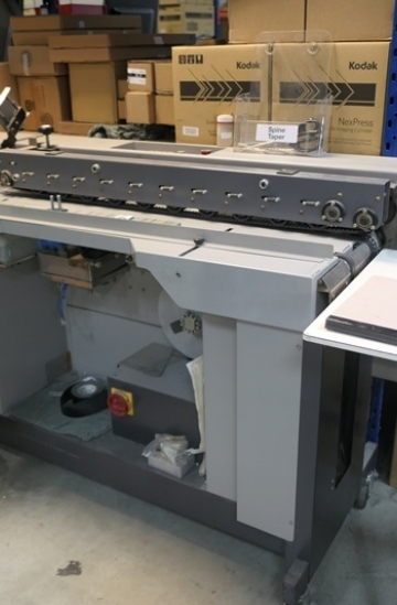 Others  Used other machines Horizon GMS-7 spine tape binding machine from UK