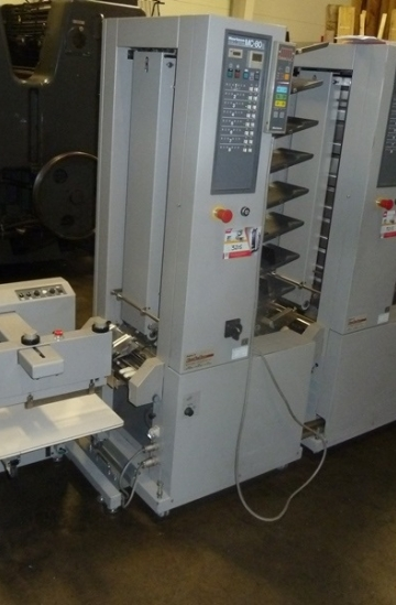 Others  Used other machines 3 x Horizon MC-80 collators with ST-20 stacker delivery