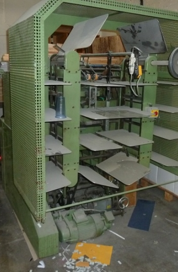Others  Used other machines Kugler D-7434 auto calendar punching machine