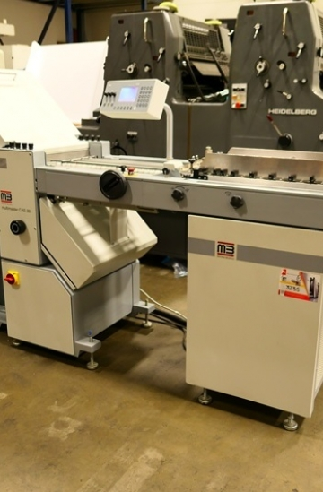 Folders  Used finishing machines MB Multimaster CAS 38 paper folder - automated paper folding machine