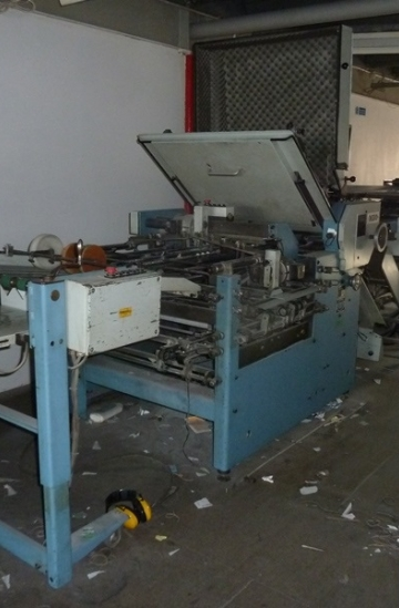 Folders  Used finishing machines used MBO paper folding machine - model K67-4KL