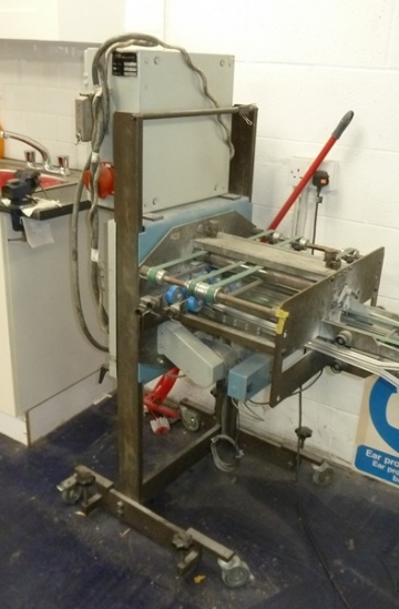 Others  Used other machines MBO Z2 mobile knife folder