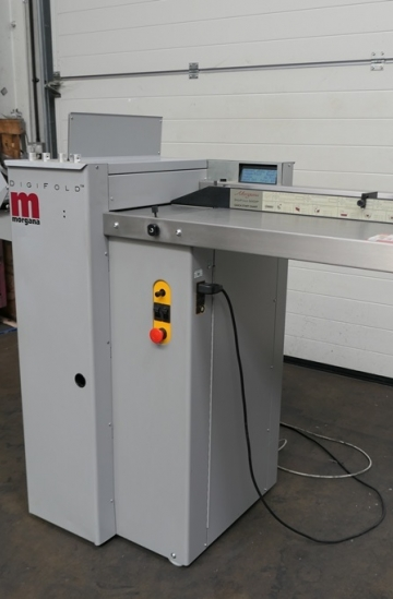 Others  Used finishing machines Morgana Digifold 5000P - automatic paper creasing & folding machine