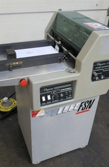 Others  Used other machines Morgana FSN Rotary numbering machine from UK