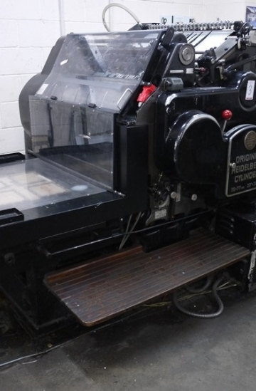 Die - cutters  Used finishing machines Original Heidelberg SBG Cylinder for sale - Die Cutter