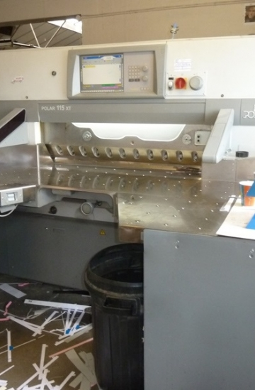 Guillotines  Used finishing machines Used Polar 115 XT guillotine for sale
