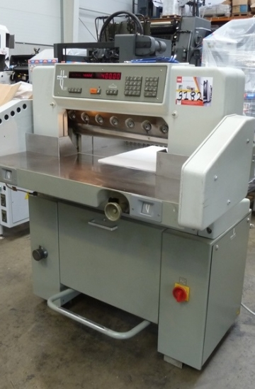 Guillotines  Used finishing machines Used Polar 55 EM guillotine for sale