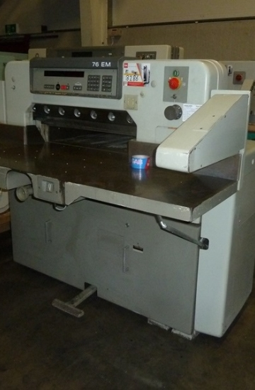 Guillotines  Used finishing machines 1993 Polar 76 em paper cutter - guillotine