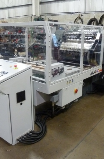 Others  Used other machines Heidelberg SB Cylinder with Brand New B&H Hot Stamping Attachment