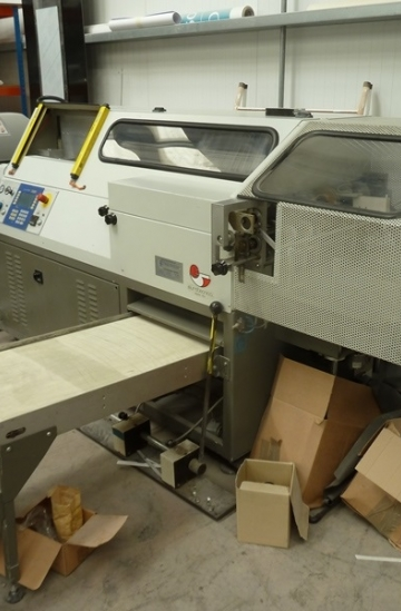 Perfect Binders  Used finishing machines 2002 Eurotecnica 445 SA-S single clamp perfect binder