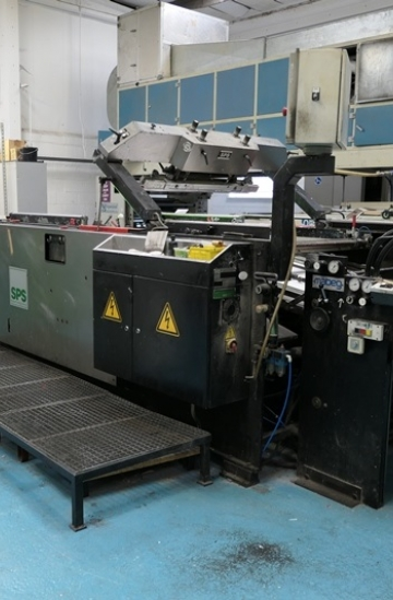 Others  Used other machines Spot Uv Coating Machine - SPS Vitessa Flex G2