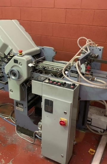 Folders  Used finishing machines Stahl T36-4-1 Pharmaceutical paper folding machine for sale