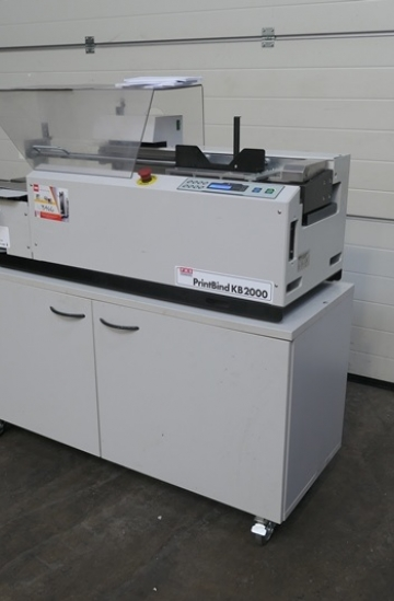 Perfect Binders  Used finishing machines FKS PrintBind KB2000 single clamp perfect binder from UK