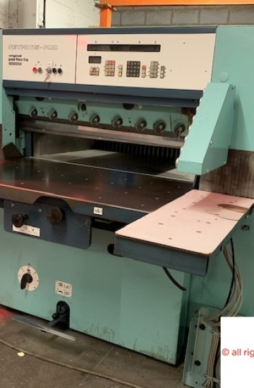 Guillotines  Used finishing machines Used Perfecta 115 PMC paper cutting guillotine for sale
