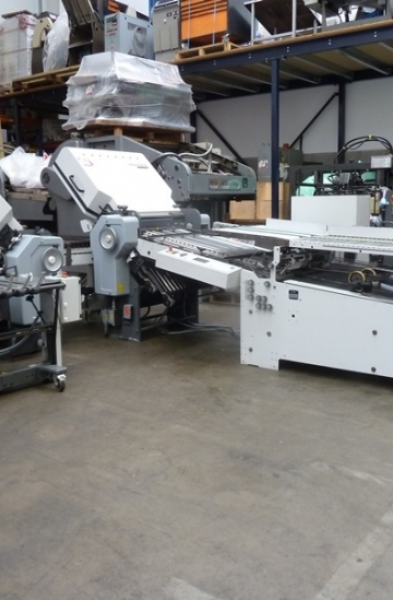Folders  Used finishing machines Used Stahl RD 66 4-4-1 paper folder for sale