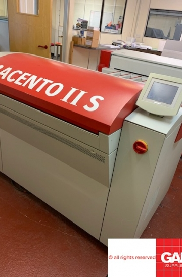 Pre-press  Used pre-press machines Agfa Acento II S high speed CTP machine - Screen PT-R4300S