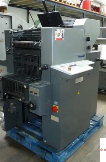 Two colour  Used offset printing machines Used Heidelberg QuickMaster QM 46-2 colour offset