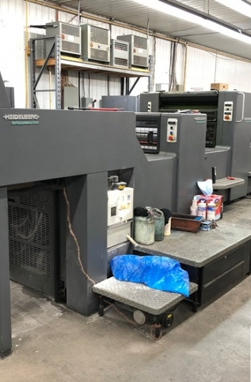 Four colour  Used offset printing machines Heidelberg SM 74-4P + L four colour offet
