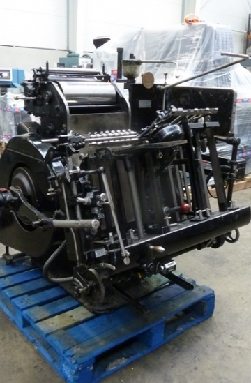 Die - cutters  Used finishing machines Heidelberg T-Platen Letter Press Machine for sale
