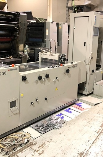 Saddle Stitching  Used finishing machines Horizon VAC-100 booklet maker with spf-20 & fc-20 from UK
