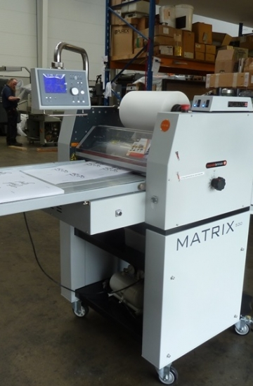 Others  Used other machines Matrix MX-530P pneumatic laminator for sale