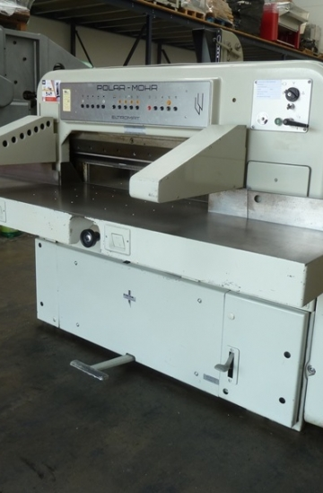 Guillotines  Used finishing machines Used Polar 92 CE paper cutter for sale